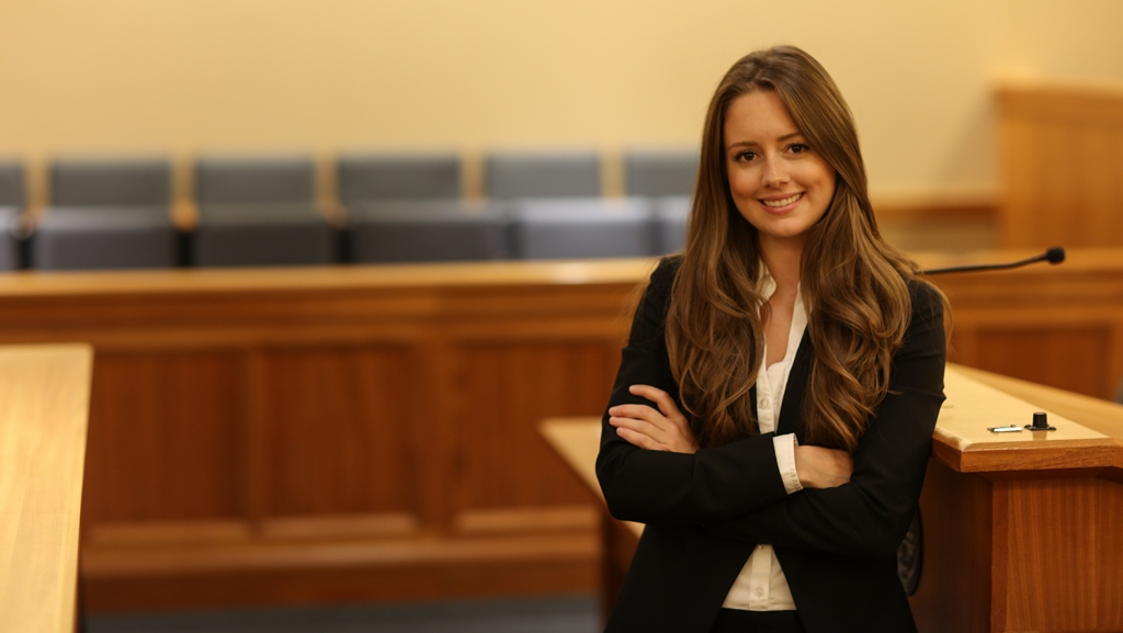 Portrait of Suffolk University Law School student Merry Sheehan.
